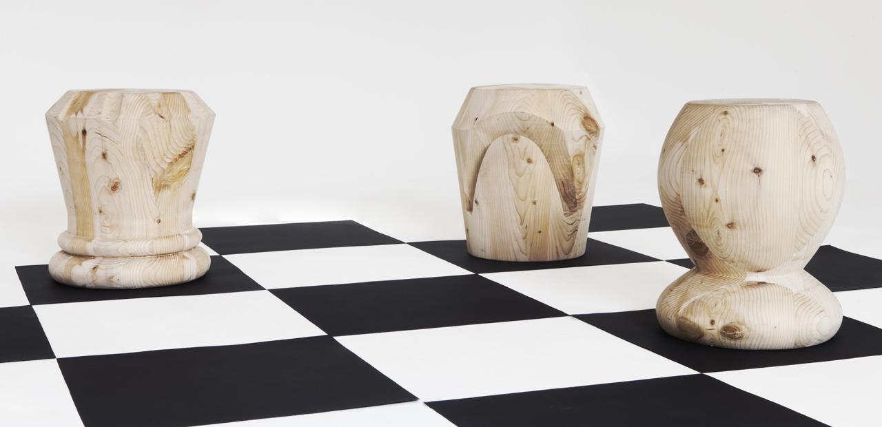 Chess stools 3