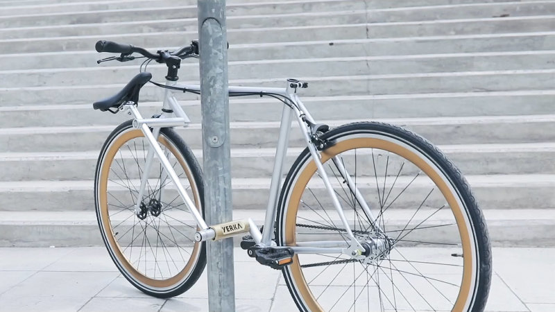 This may look like your average bike, but it has a special tool built in
