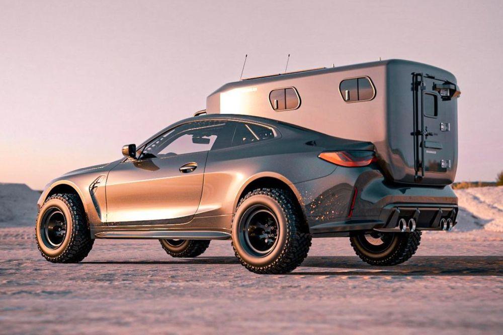 BMW M4 Camper