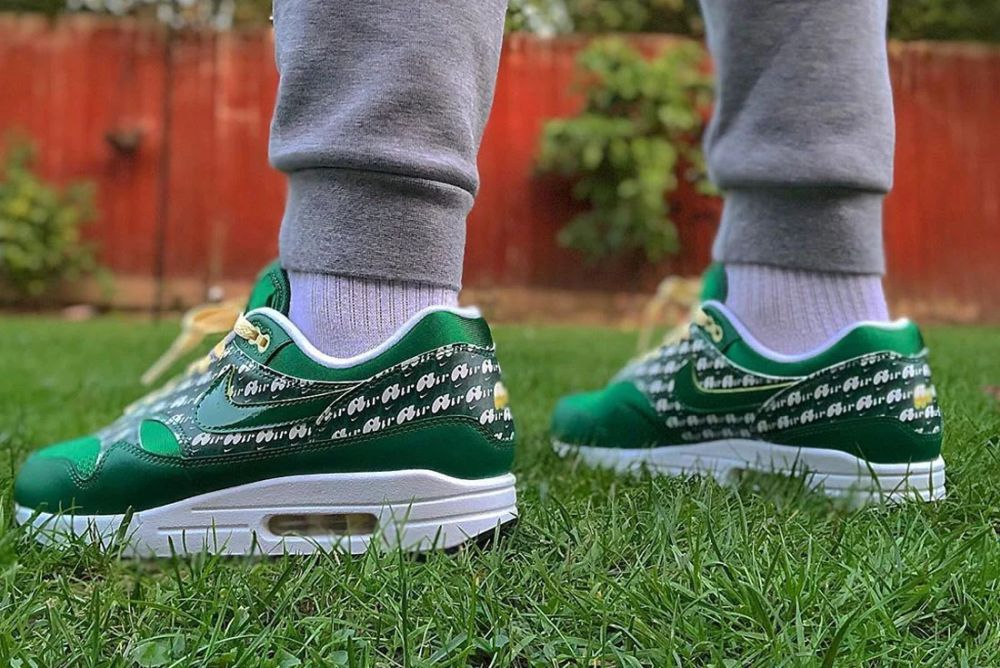 "Nike Air Max 1 Powerwall ""Limeade"""